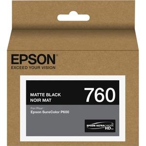 EPSON - SUPPLIES T760 BLACK INK ULTRACHROME HD MATTE