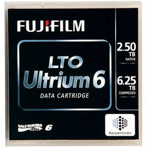 FUJIFILM LTO 6 ULTRIUM 2.5TB/6.25TB BARCODED LIBRARY PACK TAPE CARTRIDGE