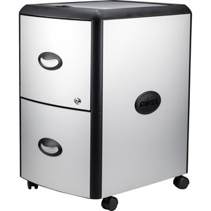 Storex Metal-clad Mobile Filing Cabinet - 19
