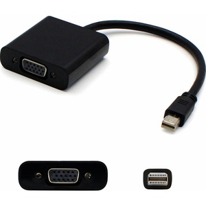 ADD-ON COMP PERIPHERALS DT MINI-DP TO VGA M/F BLACK CABLE MICROSOFT SURFACE PRO3 COMPATIBLE