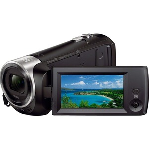 "Sony Handycam CX440 Digital Camcorder - 2.7"" LCD - Exmor R CMOS - Full HD - Black"