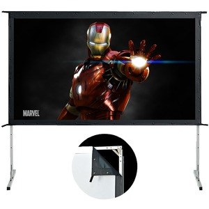 ELUNEVISION 144IN MOVIE MASTER EASY FOLD PORTABLE PROJECTION SCREEN 16:9