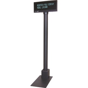POLE DISPLAY 9MM 2X20 RS232 CONFIGURABLE COMMAND SET