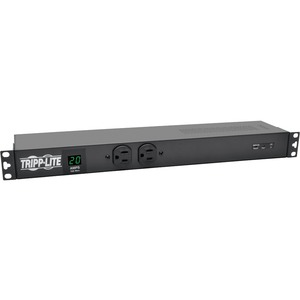 Tripp Lite 1.92KW Metered PDU + Isobar Surge Suppression 120V Outlets L5-20P/5-20P 15FT Cord