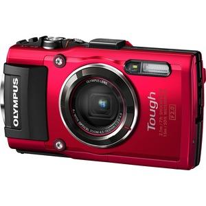 Olympus TG4 Digital Camera Red