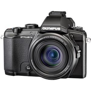 Olympus Stylus 1s 12 Megapixel Bridge Camera - Black V109020BU000
