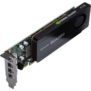PNY Quadro K1200 Graphic Card | 4 GB GDDR5 | PCI Express 2.0 x16 | Low-profile | Single Slot Space Required