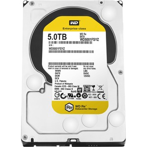 WESTERN DIGITAL 5TB RE SATA 7200 RPM 128MB HARD DRIVE