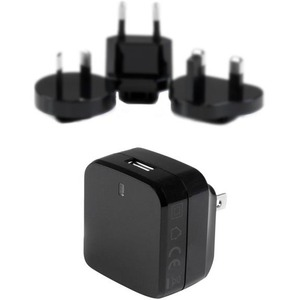 StarTech.com USB Wall Charger with Quick Charge 2.0 | Black | Travel Charger (International)