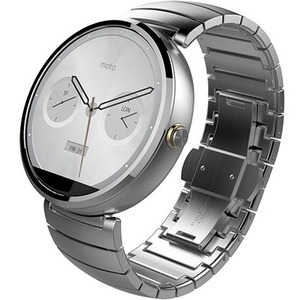 MOTOROLA MOTO360 WATCH METAL NATURAL SILVER