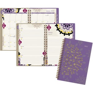 At-A-Glance Vienna Weekly/Monthly Planner - Yes - Weekly, Monthly, Daily - 1 Year - January 2020 till December 2020 - 1 Week, 1 Month Double Page Layout - 4 7/8