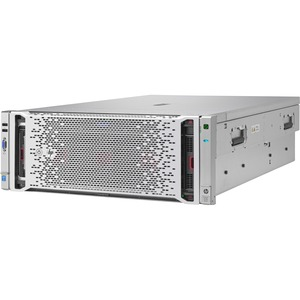 HP ProLiant DL580 G9 4U Rack Server | 2 x Intel Xeon E7-4809 v3 Octa-core (8 Core) 2 GHz | 64 GB Installed DDR4 SDRAM | 12Gb/s SAS Controller | 0, 1, 10 RAID Levels | 2 x 1.20 kW