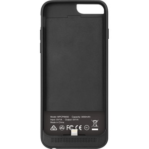 MACALLY 3000 mAh battery case - iPhone 6 4.7 - Black