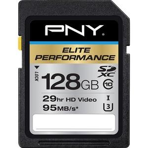 128GB Elite Performance SDXC Class 10 UHS-3 - 95MB/s