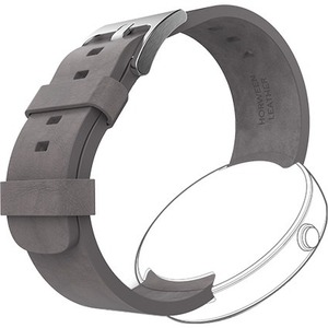 MOTOROLA MOTO360 LEATHER WATCH BAND GRAY