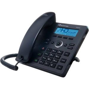 AudioCodes 420HD IP Phone - Corded - Black - 2 x Total Line - VoIP - Speakerphone - 2 x Ne