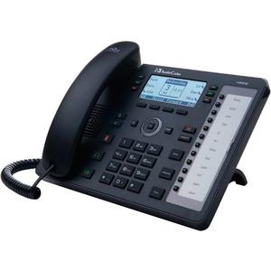 AudioCodes 430HD IP Phone - Corded - Black - 6 x Total Line - VoIP - SpeakerphoneNetwork (