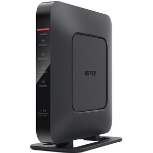 BUFFALO AirStation AC1200 (AC866 + N300) Gigabit Dual Band Open Source DD-WRT NX ROUTER