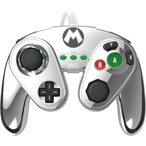 PERFORMANCE DESIGNED PRODUCTS WII FIGHT PADS - METAL MARIO