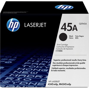 HP 45A Black Toner Cartridge - Black - Laser - 18000 Page - 1 Each