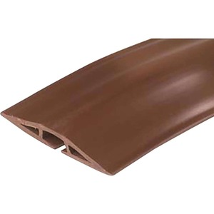 C2G 15ft Wiremold Corduct Overfloor Cord Protector | Brown