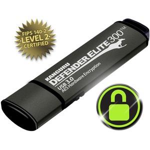 KANGURU SOLUTIONS 8GB DEFENDER ELITE 300 FIPS 140-2 ENCRYPTED FLASH DRIVE