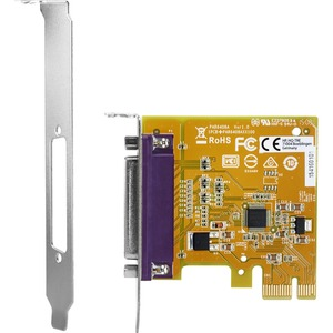 HP PCIe x1 Parallel Port Card - Plug-in Card - PCI Express 2.0 x1 - Linux-PC - 1 x Number