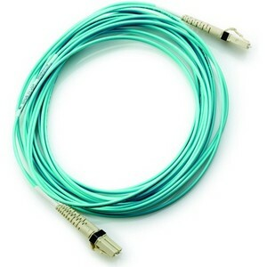 HPE 1 m Fibre Optic Network Cable - 1 Pack - First End: 2 x LC Male - Second End: 2 x LC Male