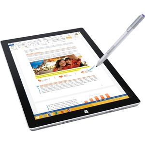 Microsoft Surface PRO3 64GB i3 W10 SC Tablet