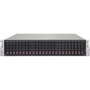 Supermicro CSE-216BE2C-R741JBOD 2U 24X2.5INCH Hotswap JBOD 3x 80X38MM Fan 740W Redundant Power