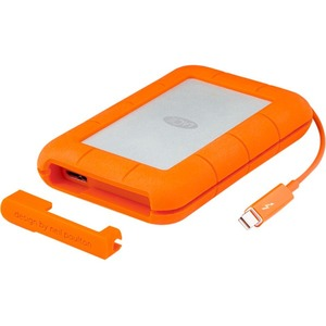 LaCie Rugged 1TB SSD Thunderbolt USB3.0 External Hard Drive