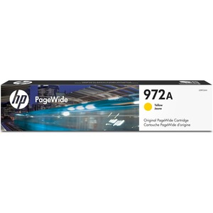 PageWide Cartridge-HP 972A-3000 Page Yield-Yellow