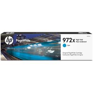 PageWide Cartridge-HP 972X-7000 Page Yield-Cyan