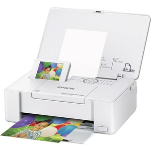 Epson PictureMate PM-400 Inkjet Printer - Color - 5760 x 1440 dpi Print - Photo Print - Desktop C11CE84201