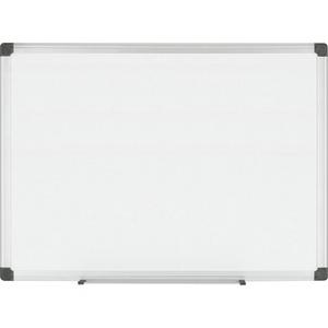 Bi-silque Porcelain Magnetic Dry Erase Board - 48
