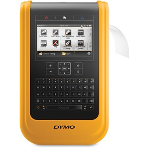 DYMO XTL 500 LABEL MAKER KIT QWERTY 2IN BLACK AND YELLOW XTL500 PRINTER CAR
