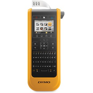 DYMO XTL 300 LABEL MAKER KIT QWERTY 1IN BLACK AND YELLOW INCLUDING: XTL300 P