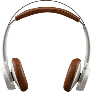 Plantronics Backbeat Sense Wireless Bluetooth Headphones - White / Tan