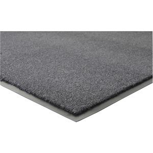 Genuine Joe Silver Series Indoor Entry Mat - Building, Carpet, Hard Floor - 10 ft Length x 36