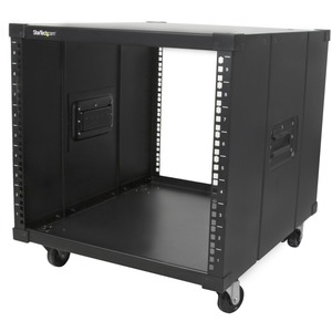 Startech Portable Server Rack With Handles - 9U. Store Your Servers Network and Telecomm