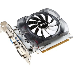 MSI N730-2GD3V3 GeForce GT 730 Graphic Card | 700 MHz Core | 2 GB DDR3 SDRAM | PCI Express 2.0 x16