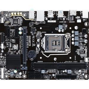 Gigabyte Ultra Durable GA-H110M-A Desktop Motherboard | Intel H110 Chipset | Socket H4 LGA-1151