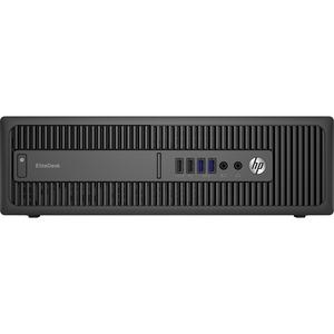 HP EliteDesk 800 G2 (P4K06UT#ABA) Desktop | Intel Core i5-6500 3.2GHz, 4GB DDR4, 500GB HDD, SuperMulti DVD-RW | Intel HD Graphics 530, Windows 7 Professional 64-bit