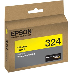 EPSON STD Capacity UltraChrome HG2 Yellow SureColor P400, Water, smudge and fade