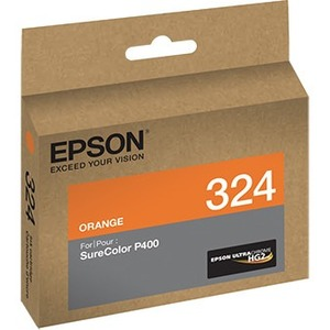 EPSON STD Capacity UltraChrome HG2 Orange SureColor P400, Water, smudge and fade