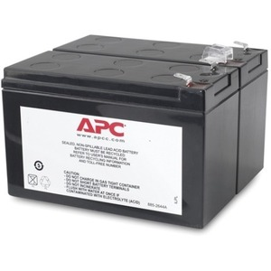 APC BY SCHNEIDER ELECTRIC Battery Unit - Sealed Lead Acid (SLA) - Spill-proof/Maintenance-free