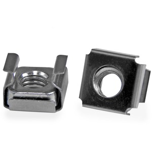 StarTech M6 Cage Nuts - 100 Pack