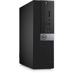 Dell OptiPlex 5040 Desktop Computer | Intel Core i5 (6th Gen) i5-6500 3.20 GHz | 4 GB DDR3L SDRAM | 500 GB HDD | Windows 7 Professional 64-bit (English/French/Spanish) upgradable to Windows 10 Pro | Small Form Factor | Black