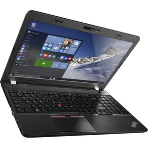 "Lenovo ThinkPad E560 20EV002FUS 15.6"" LCD Notebook - Intel Core i5 i5-6200U Dual-core (2 Core) 2.30 GHz - 4 GB DDR3L SDRAM - 500 GB HDD - Windows 7 Professional 64-bit upgradable to Windows 10 Pro - 1366 x 768 - Graphite Black 20EV002FUS"