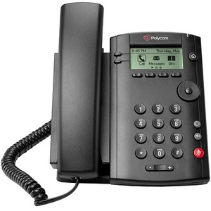 POLYCOM - VOIP VVX 101 1LINE DESKTOP PHONE W/ SINGLE 10/100 ENET PORT